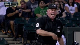 Download Miggy, Leyland ejected in the first inning Video