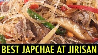 Download Best Japchae at Jirisan Restaurant (KWOW #117) Video