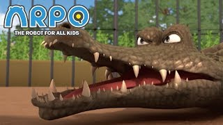Download ARPO The Robot For All Kids - Angry Animals | Compilation | Cartoon for Kids Videos For Kids Video