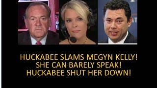 Download Video Clip That Got Trump Elected! Huckabee Slams Megyn! Shut Kelly Down Like Donald Trump Jr. Did! Video