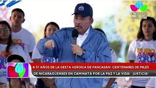 Download Ortega le pide a Costa Rica darle los nombres de los refugiados nicaraguenses Video