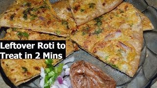 Download Convert Leftover Chapati, Roti to Delitious Treat in 5 Mins Smart recipe by Chawla's Kitchen Video