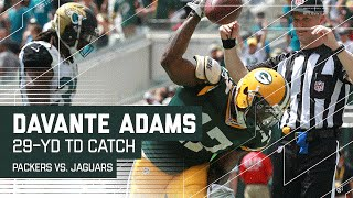 Download Aaron Rodgers' Incredible Pass to Davante Adams for the TD! | NFL Video