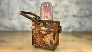 Download Will it Light? Vintage Railroad Lamp Restoration Video