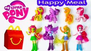 Download MLP McDonalds Happy Meal Toys 2015 My Little Pony Equestria Girls Toys Video Princess Twilight Dolls Video