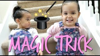Download The Twin's Magic Trick! - April 12, 2017 - ItsJudysLife Vlogs Video
