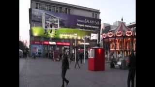Download Trams and City Centre of Dnipropetrovsk, Ukraine. Video