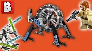 Download Lego Star Wars General Grievous Wheel Bike Set 75040 | Unbox Build Time Lapse Review Video