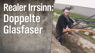 Download Realer Irrsinn: Doppelt gelegte Glasfaserkabel | extra 3 | NDR Video