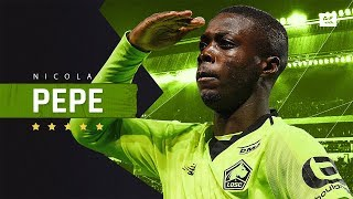 Download Nicolas Pepe - Sensational Player - Crazy Skills, Speed, Goals & Assists - 2019 | HD Video