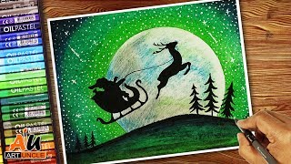 Download How to draw: Santa Claus on his Sleigh: Step by step: For kids Video