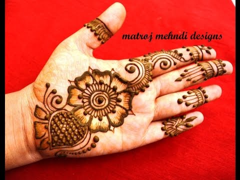 easy mehndi designs for hands|mehndi designs for marriages|matroj mehndi designs