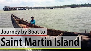 Download Dangerous Sea Travel to Saint Martin by Trawler | Labib Ittihadul Video