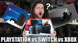 Download Nintendo Switch vs PS4 vs Xbox One, WHICH IS BEST? Video