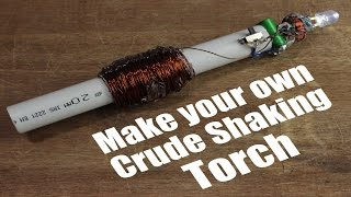 Download Make your own Crude Shaking Torch (Emergency Flashlight) Video