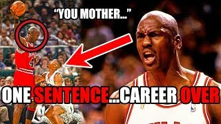 Download How Michael Jordan DESTROYED This Player's Career With ONE Sentence (Ft. NBA Trash Talk) Video