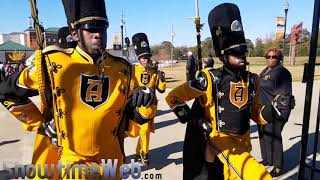 Download ASU Stingettes and Band Marching In - 2017 Turkey Day Classic Game Video