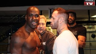 Download Jamie Hearn vs Lawrence Bennett weigh in Video
