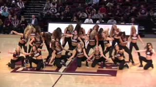 Download Texas A&M Aggie Dance Team ″Poison″ - Mens BB vs South Carolina (W) Video