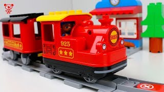 Download Lego Duplo Steam train 10874 - Toy Trains for kids video - New Lego duplo train Video