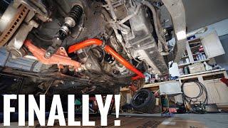 Download Seat Time 350Z Refresh Pt.2 Installing Big Sway Bars! Video