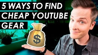 Download Cheap YouTube Equipment? — 5 Budget YouTube Setup Tips Video