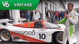 Download Porsche 962 C des 24h du Mans - Les essais vintage de V6 Video