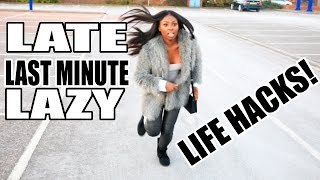 Download LAZY, LATE & LAST-MINUTE LIFE HACKS! Video