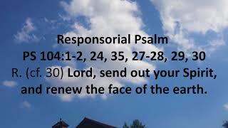 Download Daily Bible Reading 20 May 2018 Pentecost Sunday - At the Vigil Mass of Catholic Mass Video