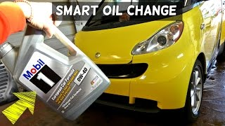 Download SMART CAR OIL CHANGE 1.0 3 CYLINDER Smart ForTwo Passion For Two Video