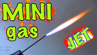 Download How to make a mini Gas-jet (up to 1000ºC) Video