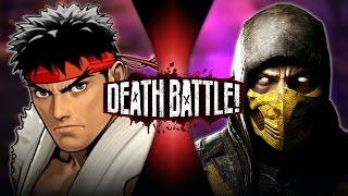 Download Ryu VS Scorpion (Street Fighter VS Mortal Kombat) | DEATH BATTLE! Video