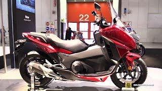 Download 2018 Honda Integra 750 DCT - Walkaround - Debut at 2017 EICMA Motorcycle Exhibition Video