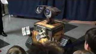 Download Real Life Wall-E at Franklin Institute Video