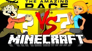Download Minecraft: THE AMAZING RACE LUCKY BLOCK CHALLENGE   3 COUNTRY CHALLENGE Video