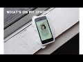 What's on my Iphone 5c {Shaniah Rollo}