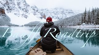 Download Winter Banff Road Trip Video