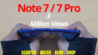Download Redmi Note 7S | 7 | 7 Pro Durability Test | DROP SCRATCH BEND | Gupta Information Systems | Hindi Video