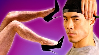 Download The Try Guys Wear High Heels For A Night Video