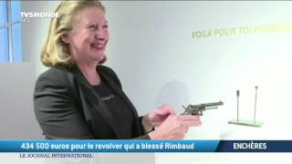 Download 434.500 euros pour le revolver qui a blessé Rimbaud Video