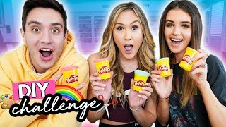 Download THE DIY CHALLENGE 12: Jess & Gabriel Conte Video