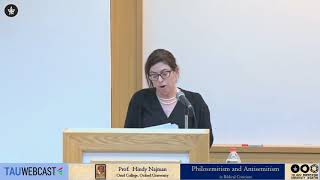 Download Philosemitism and Antisemitism in Biblical Criticism: Prof. Hindy Najman Video