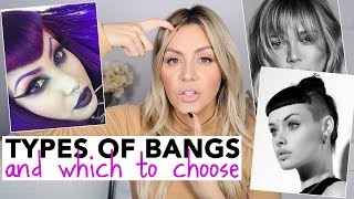 Download All Types of Bangs - and Which to Choose! Video