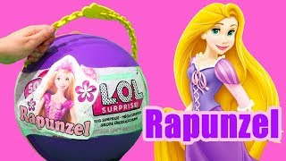 Download LOL Big Surprise CUSTOM Ball Rapunzel DIY ! Toys and Dolls Fun for Kids Opening Surprises | SWTAD Video