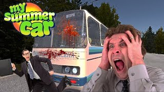 Download DRUNK IN PUBLIC TRANSPORT - My Summer Car Gameplay Part 6 Video