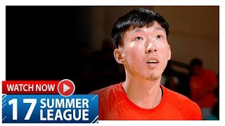 Download Zhou Qi Full Highlights vs Nuggets (2017.07.07) Summer League - 17 Pts, 6 Reb Video