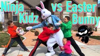 Download Ninja Kidz catch The Easter Bunny! Video