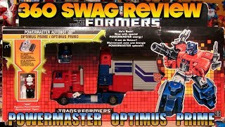Download 360 Swag Review: G1 Transformers Powermaster Optimus Prime (1988) + Takara God Ginrai Reissue Video