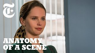 Download Watch Felicity Jones as a Young Ruth Bader Ginsburg in 'On the Basis of Sex' | Anatomy of a Scene Video
