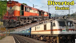 Download ROUTE DIVERTED TRAINS   Due to Non-Interlocking works for GUNTUR-TENALI Doubling Project   [ I R ] Video